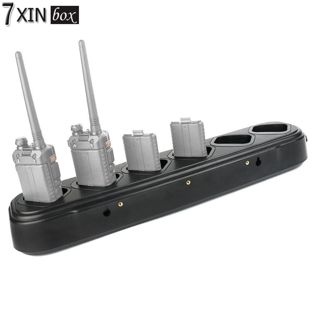 Подробнее о New Hot Sale Six/6-Way Universal Rapid Multi Charger For Pofung for BAOFENG UV-82 UV-82C UV-82L UV-82X LT-9000 Two-Way Radio адаптер питания от прикуривателя eliminator baofeng uv 82