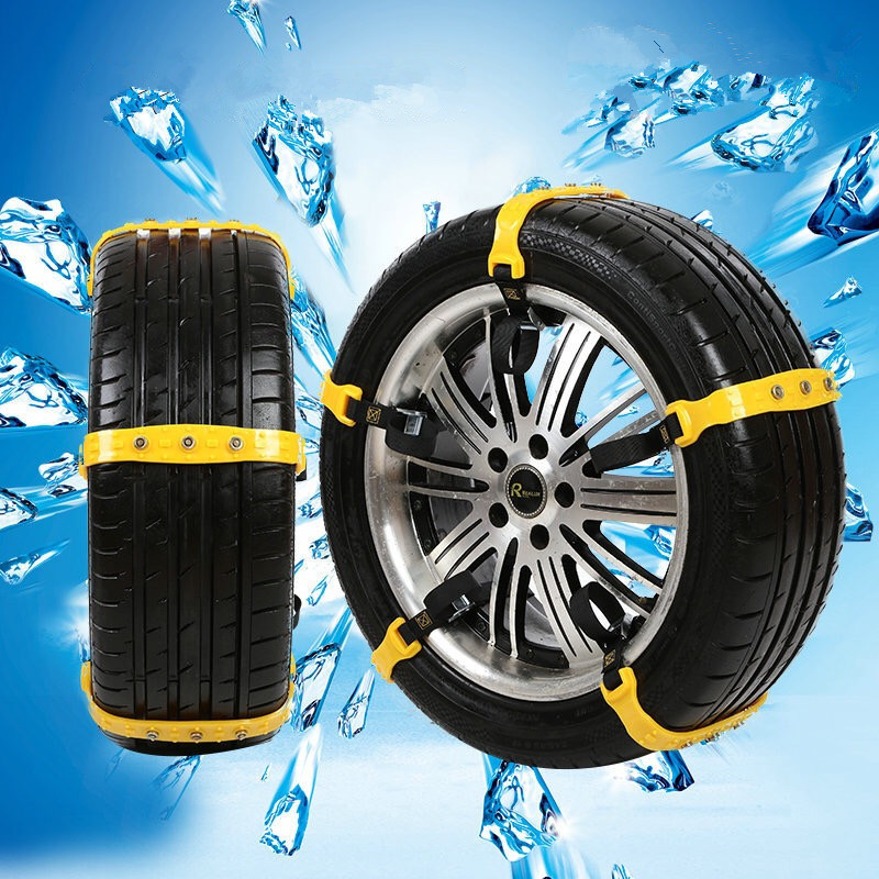 10pcs car winter snow tire anti skid wheel chains universal beef tendon thickening emergency. Black Bedroom Furniture Sets. Home Design Ideas