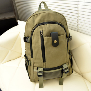 Backpack Vintage Canvas Backpack School Bag  Travel Bags Large Travel Backpack Bag