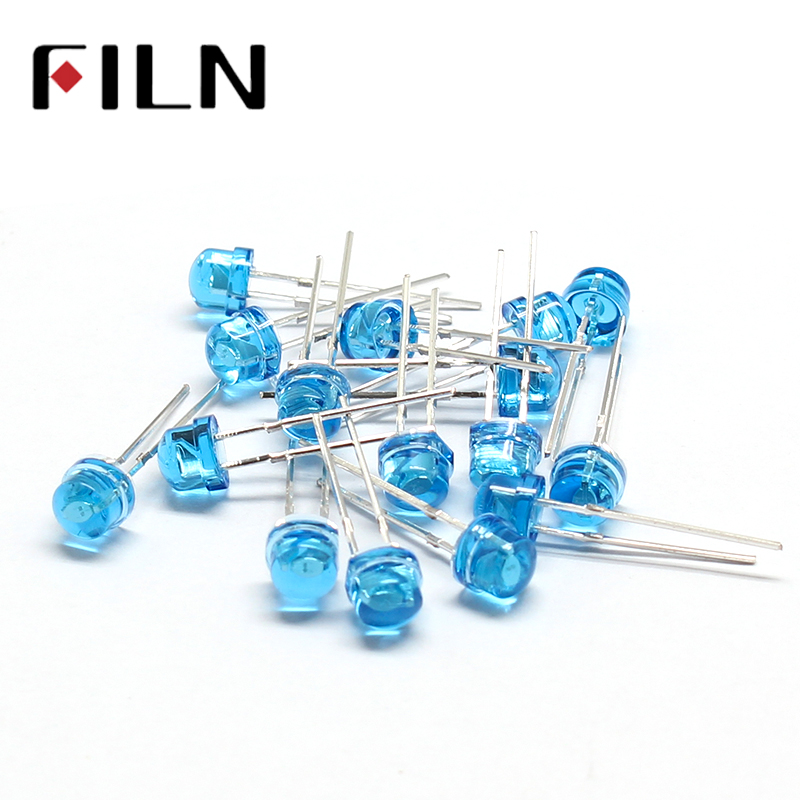 100pcs/lot 5mm diffused blue bidirectional LED Emitting Diode Lamp Super Bright LED Light 2 pin100pcs/lot 5mm diffused blue bidirectional LED Emitting Diode Lamp Super Bright LED Light 2 pin