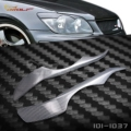Real Carbon Fiber decoration Headlight  Eyelids Eyebrows cover trim 2pcs Fit For Lexus IS200 TRD STYLE 1999~2005