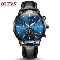 Relogio Masculino OLEVS Luxury Brand Analog Sports Wristwatch Display Date Mens Quartz Business Watch Male Watches