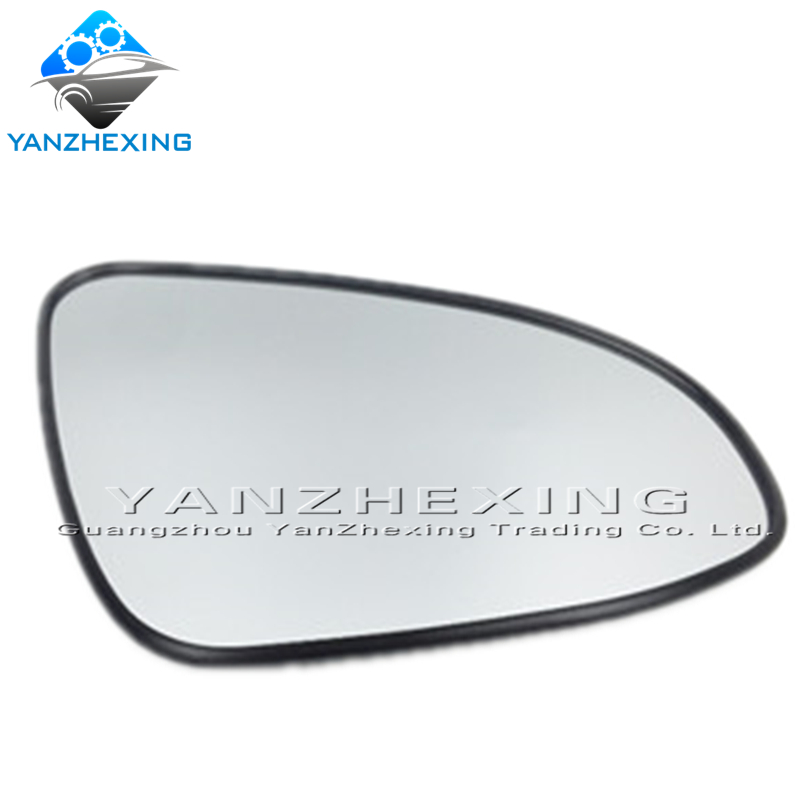 CAPQX Left Right Heated Rearview Mirror Glass Outer Mirror Lens For TOYOTA 2013 2014 2015 2016 2017 ZWE182 NRE18# ZRE18# NDE180