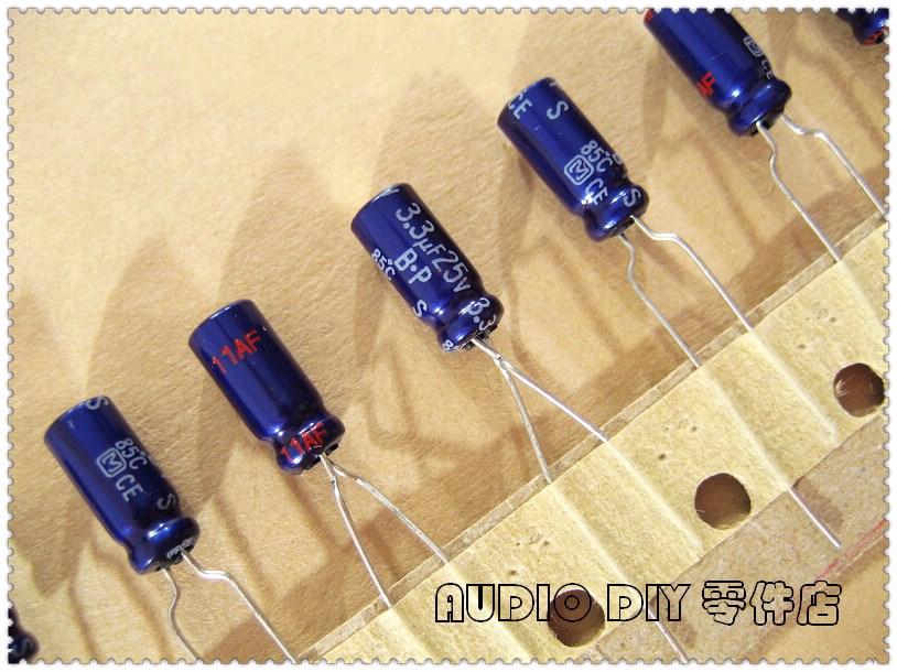 20PCS/100PCS S-BP Series 3.3uF 25V 25v3.3uf Non-polar Electrolytic Capacitor