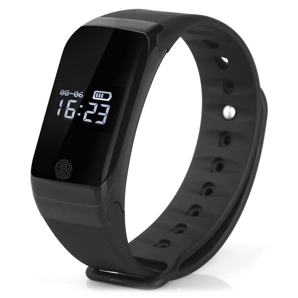 imágenes para X7 inteligente pulsera bluetooth 4.0 deportes smart watch heart rate monitor de presión de temperatura monitor de fitness brazalete rastreador
