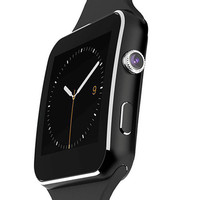 New Smart Watch with Camera Touch Screen Support SIM TF Card Bluetooth Smartwatch Facebook for Sport Watches Android Phone