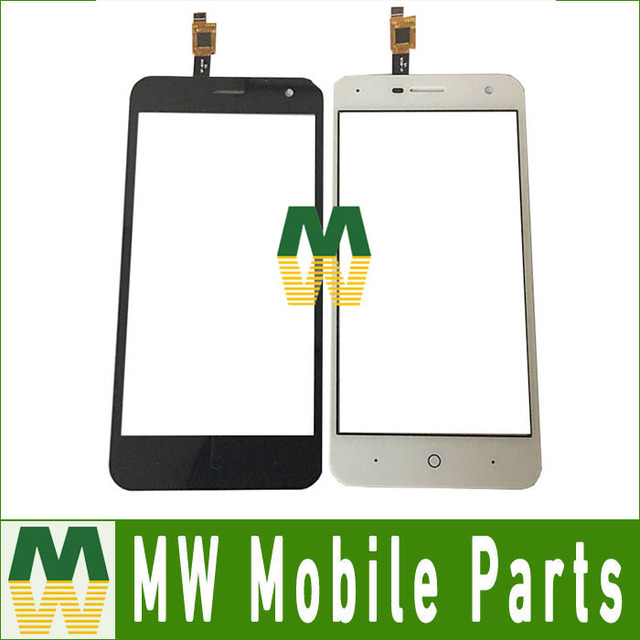10PC/ Lot High Quality For ZTE blade A465 5.0'' Touch screen Touch Plane Digitizer Black White Color
