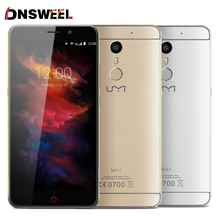 UMI Helio P10 Max MTK Octa Core Smartphone de 5.5 pulgadas FHD IPS 4G LTE Android 6.0 Malvavisco 4000 Mah 3 GB RAM 16 GB ROM Móvil teléfono