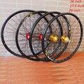 MODENG 26 дюймов MTB горный велосипед колеса 32H 319 обод 27 5 дюймов 4 подшипника концентратор 29 дюймов быстросъемное колесо