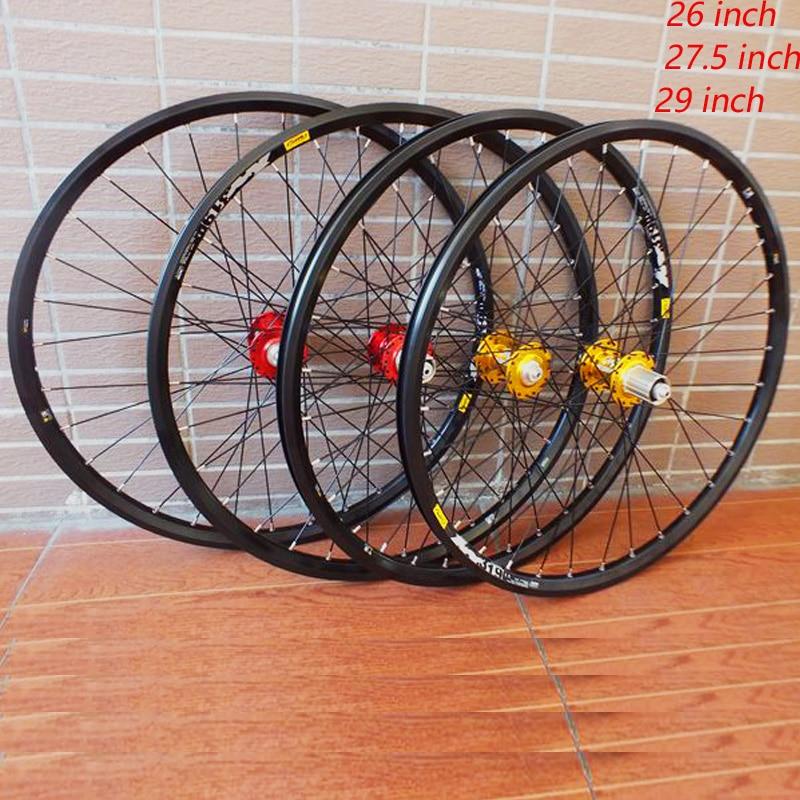 MODENG 26 inch MTB Mountain bike wheel 32H 319 rim 27.5 inch 4 bearing hub 29 inch Quick release wheelMODENG 26 inch MTB Mountain bike wheel 32H 319 rim 27.5 inch 4 bearing hub 29 inch Quick release wheel