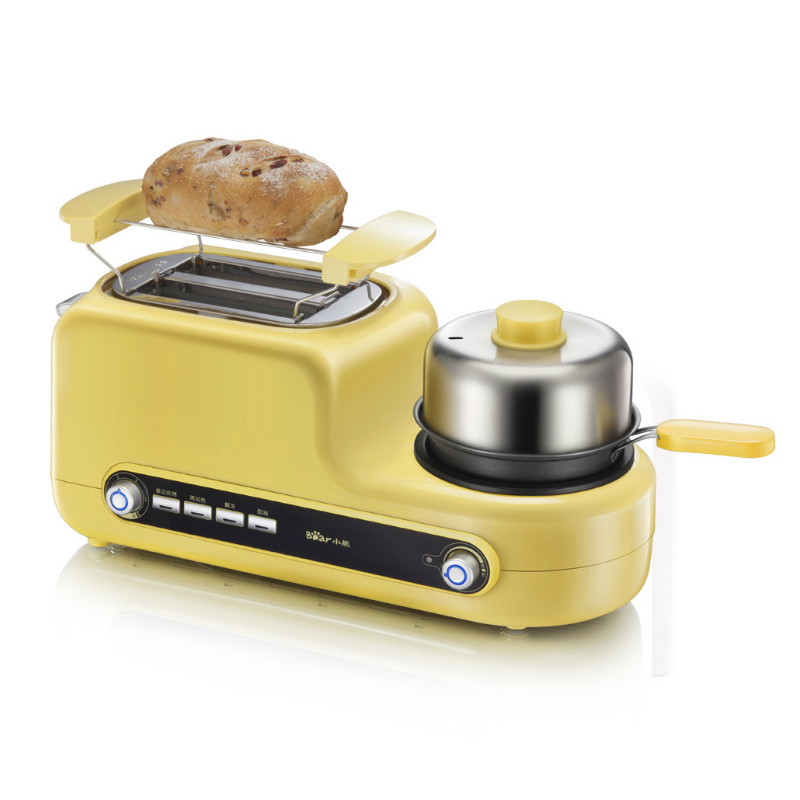 5 In 1 Breakfast Machine 2 Slices Bread Toaster Frying Egg/ Meat Multifunctional Breakfast Machine DSL-A02Z1 Тостер
