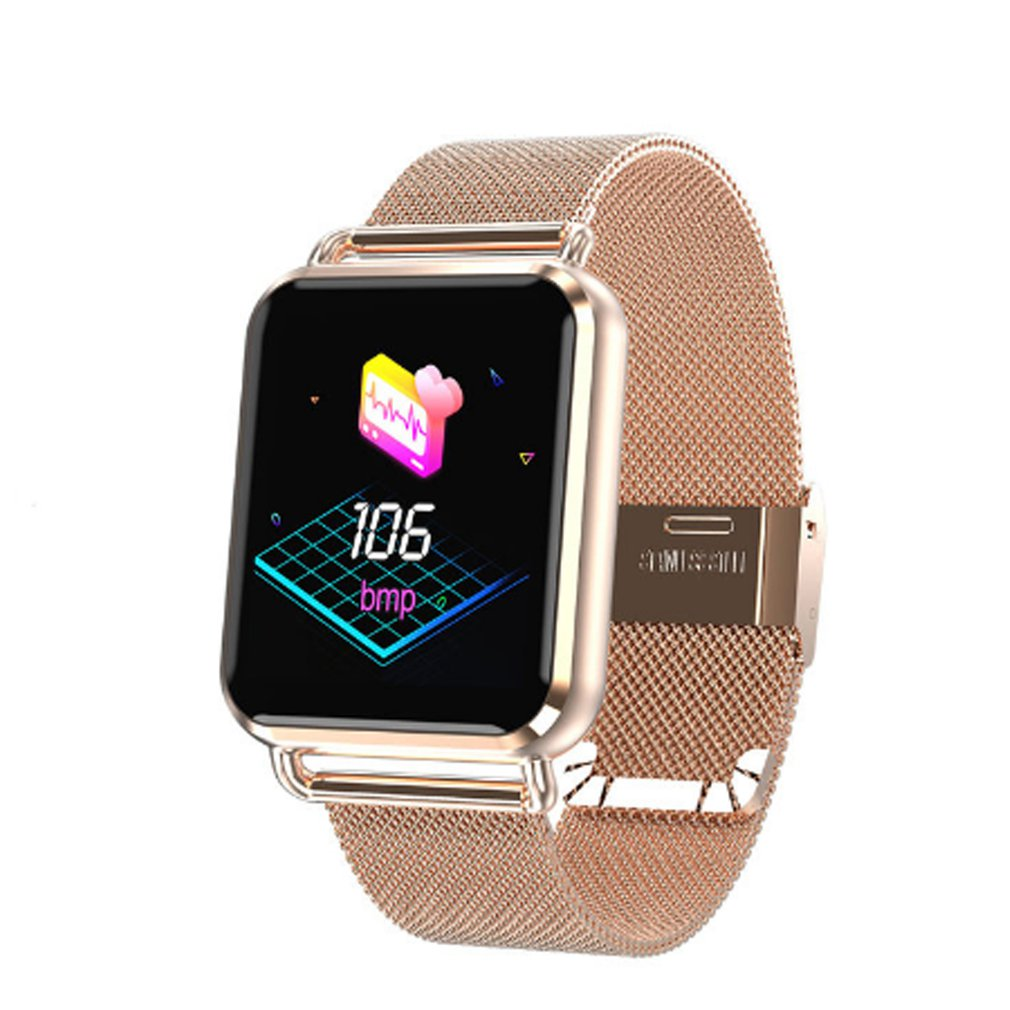 Q3Smart Band Blood Pressure Smart Wristband Blood Heart Rate Monitor Step Counting Smart Bracelet Mesh Steel/Silicone Smartwatch