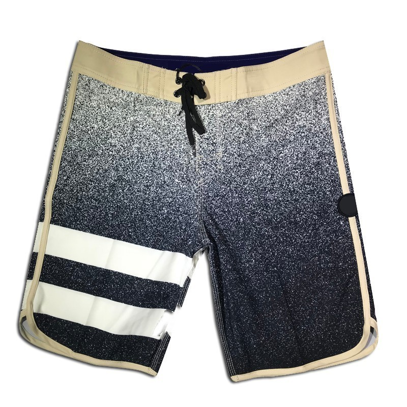 High Quality Summer New Phantom Waterproof Board   Shorts   Mens Quick Dry Beach   Shorts   Elastic Fitness   Short   Spandex Boardshorts