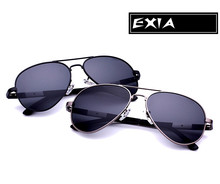 Grey Polarized Sunglasses Men Brand Glasses Can be Customized RX Optical Lenses EXIA OPTICAL KD-505 Series