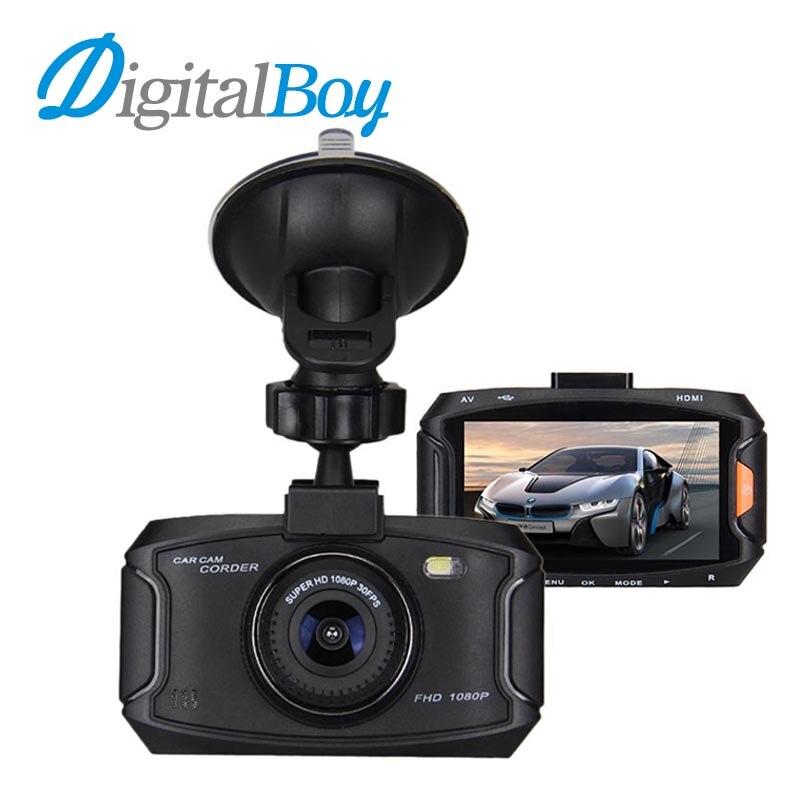imágenes para Digitalboy cámara del registrador del coche 1080 p full hd de 2.7 pulgadas dvr coche 150 Grados de Ángulo de Pantalla LCD Dash Cámara Videocámara Auto Cuadro Negro