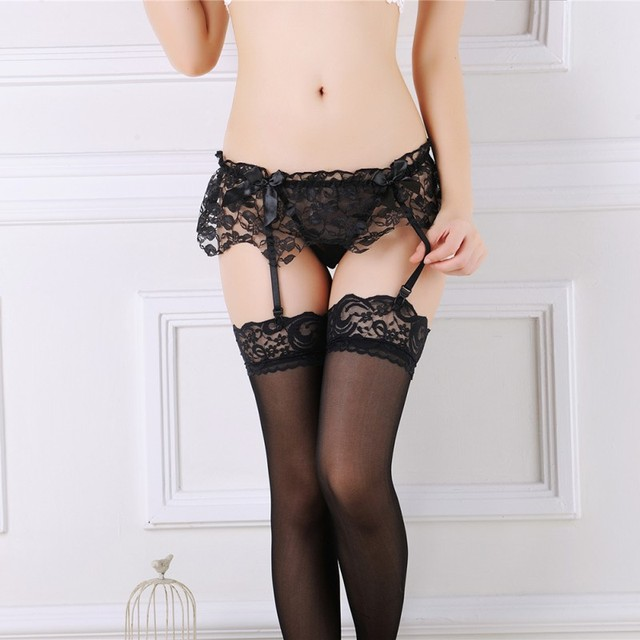 Stocking lingerie pic