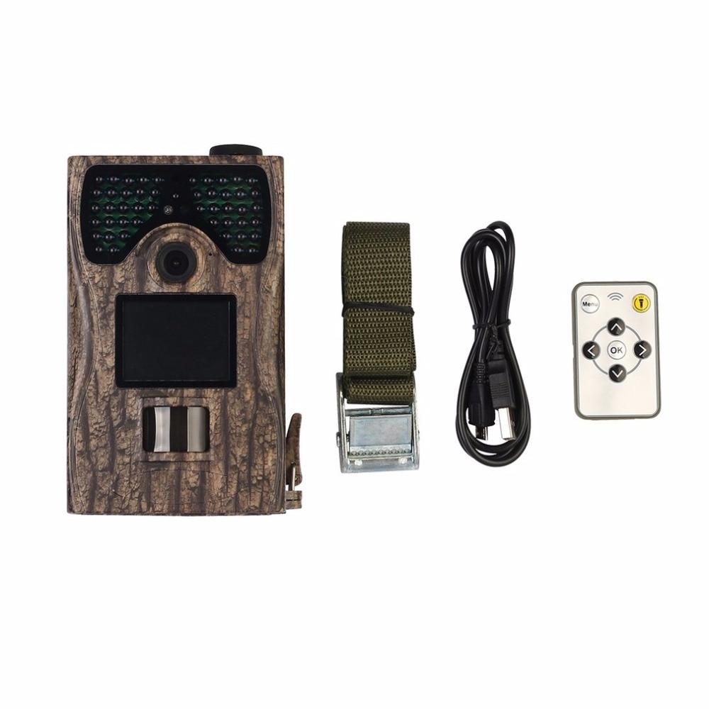 SV-TCM12C Outdoor 2 Inch LCD Screen Hunting Camera IP55 Waterproof PIR Sensor 90 Angle Portable Night Vision Camera