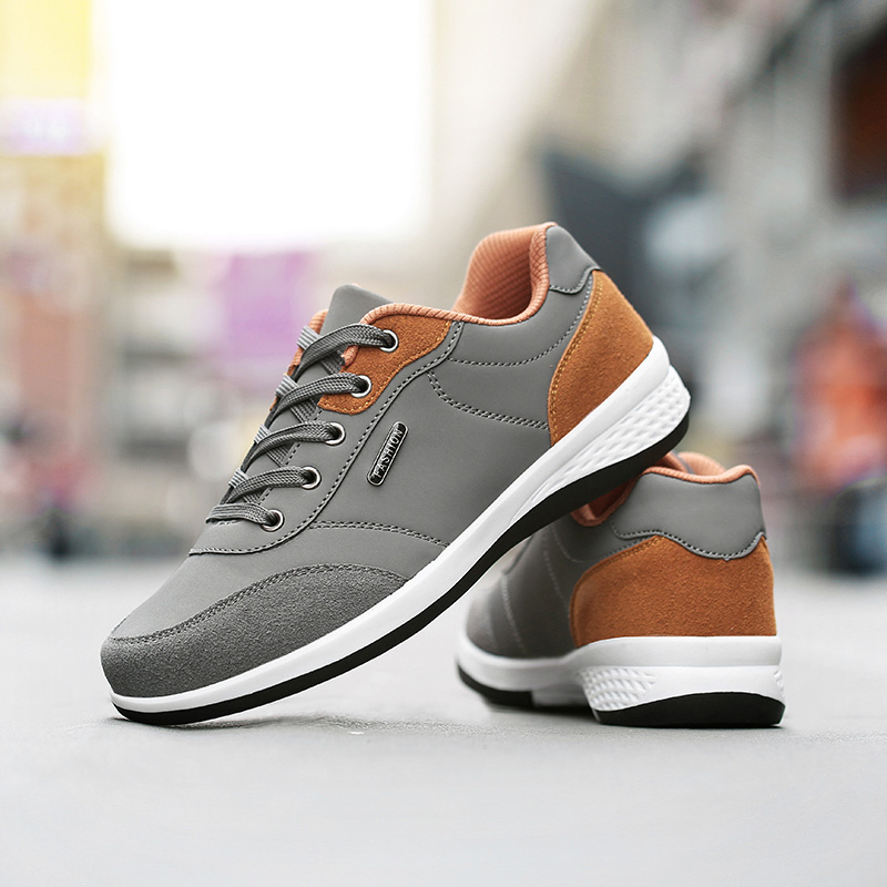 AD AcolorDay 2017 New Arrival Top Quality Men Casual Shoes Spring Autumn Walking Shoes Men Lace