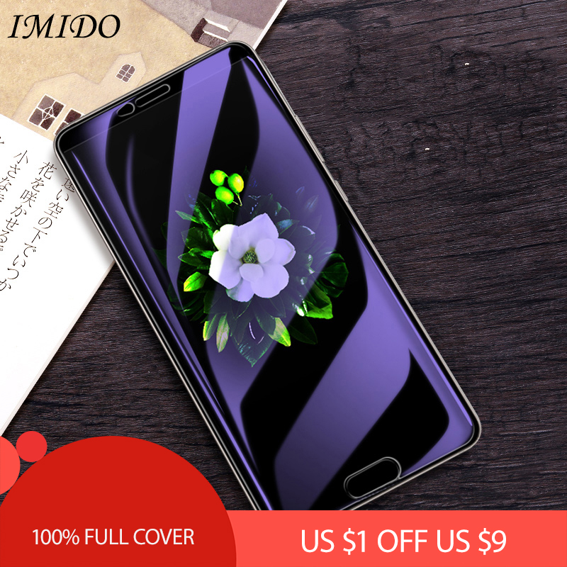 100 Full Coverage Anti Blue Screen Protector for Huawei Mate 10 Pro Anti Blue Purple Light Tempered Glass Film for Mate10 Lite in Phone Screen Protectors from Cellphones Telecommunications