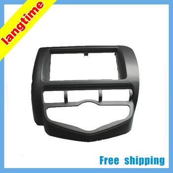 Free shipping-car refitting dvd frame/dvd panel/audio frame for 2006 Honda Fit/Jazz (Aircon auto,for driver in right ), 2DIN