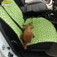 CANDY KENNEL Double Layer Oxford Waterproof Pet Dog Cat Car Front Seat Carrier Cover Pet Dog
