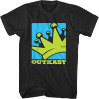 Summer Style Fashion New OUTKAST Crown Logo Hip Hop Shirt 2XL Big Boi Andre 3000 Funny