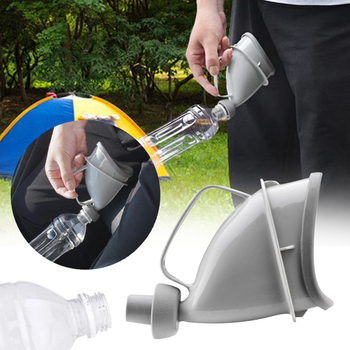 2018 Car Portable Unisex Standing Urinals Mobile Urinal Toilet Outdoor Car Travel Handle Urine Bottle Emergency Outdoor Urinal Туалет
