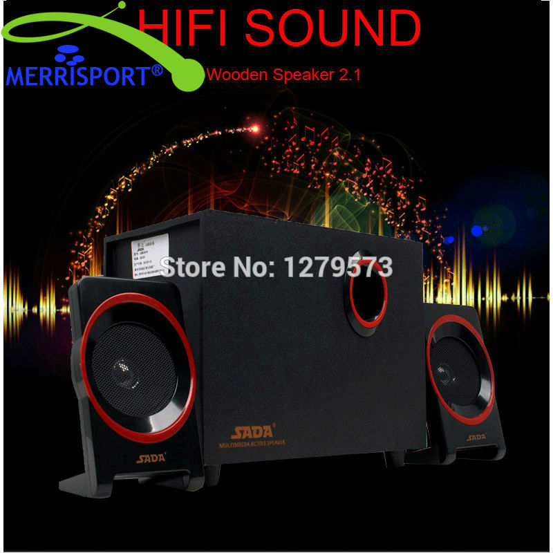 2 1 USB Computer Speakers with Bass Subwoofer Dual Stereo Satellite Speakers For Computer font b