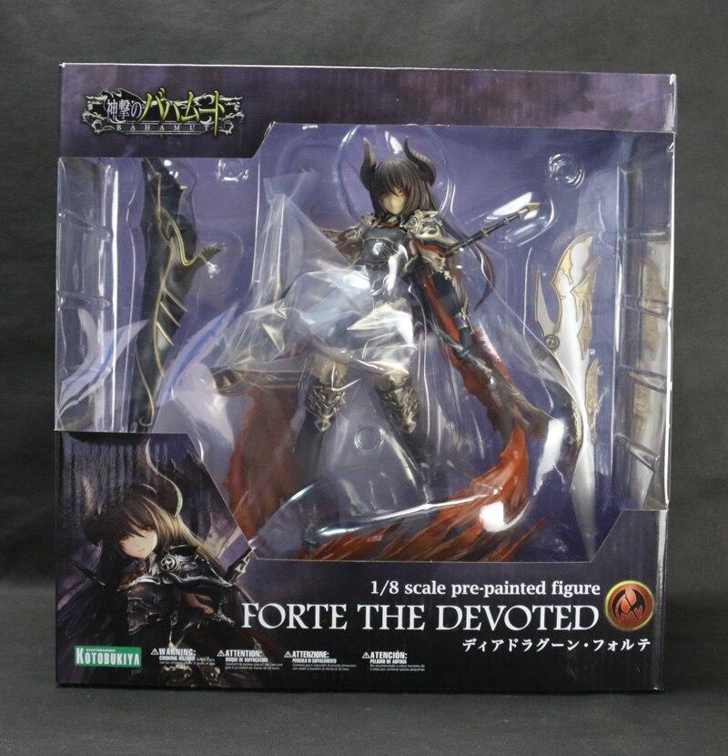 Nouveau Kotobukiya Deardragoon Forte le jeu consacré Rage de Bahamut Dragon noir chevalier 10 pouces figurine d'action