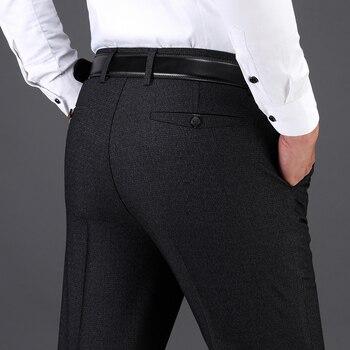 6287c9b18 Talla grande 6XL pantalones de carga para hombre invierno grueso pantalón  de lana para hombre ...