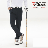 PGM Colorful Golf Pants For Men Solid Polyester Winter Waterproof Thicker Man S Golf Sports Pants
