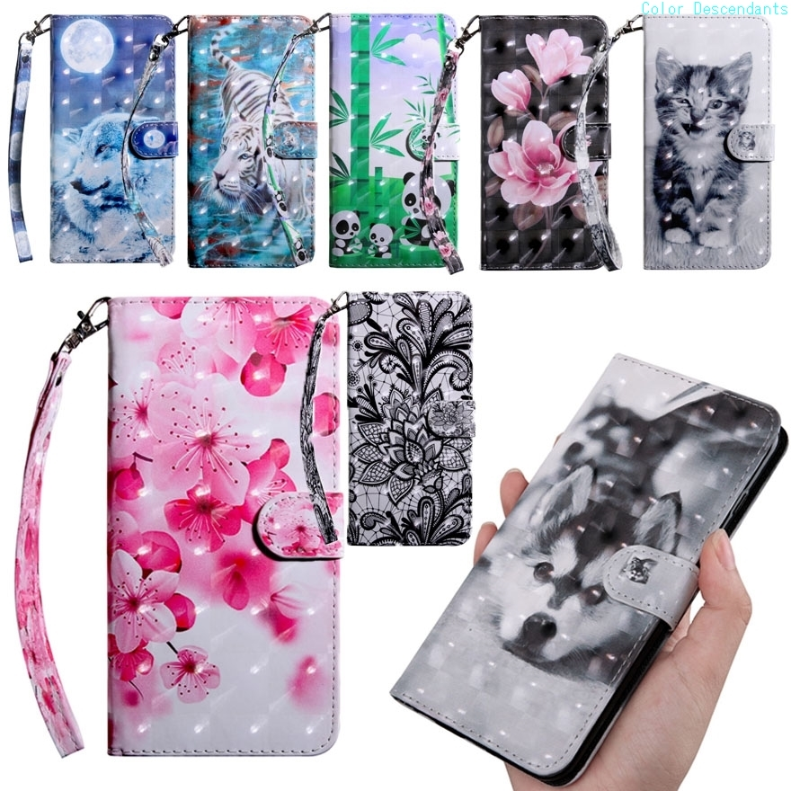 Phone Cases sFor Fundas LG LG Stylo 4 Coques 6.2 inch Wallet Flip leather Cover