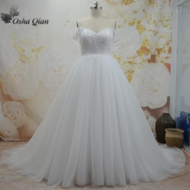 Country Western Wedding Dresses Vintage Beading Off The Shoulder ...