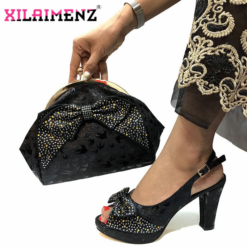 Image 3 - Special Design African Shoes With Matching Bags Set African 