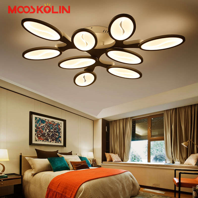 Light Filled Contemporary Living Rooms: Modern LED Ceiling Lights Living Room Bedroom Diningroom