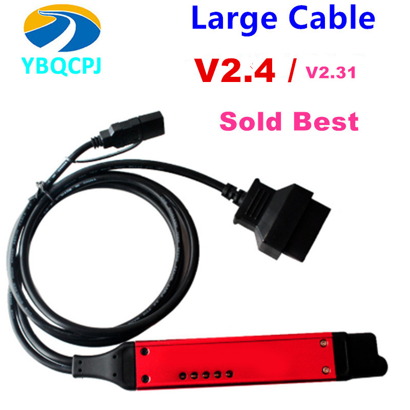 Large Cable Quality A+ VCI3 V2.31 SDP3 VCI3 Scanner For VCI Wireless VCI-3 Truck Diagnosis Software WIFI 2.31 Instead 2.27 VCI2(China)