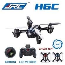 Mejor precio Mini Drones Con Cámara de 2MP Hd JJRC H6C Micro Quadcopters RC Helicóptero RC Drone Helicóptero Vs H107C Hubsan Juguetes para Kid