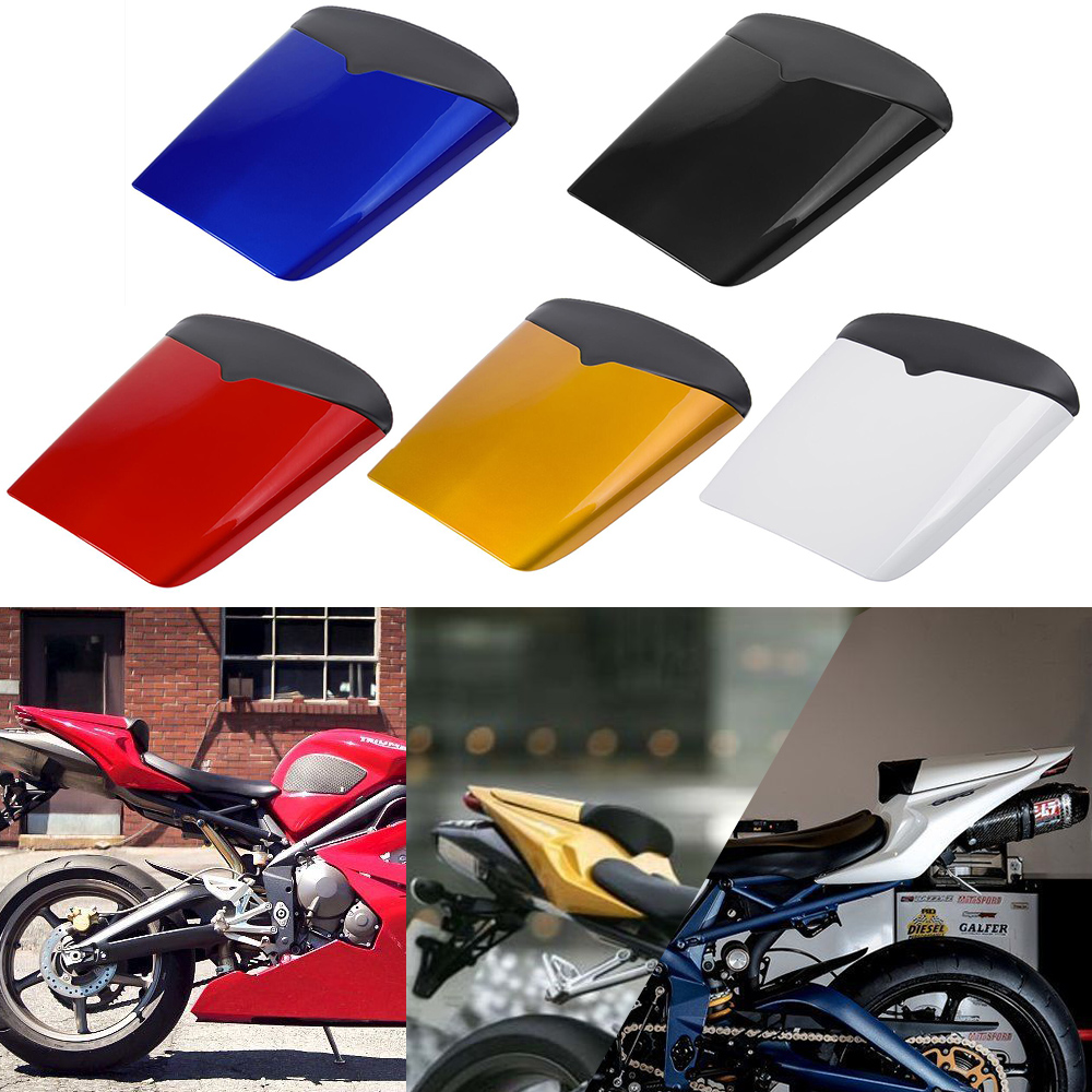 Motocycle Accessories Rear Tail Pillion Solo Seat Cowl Fairing Seat Cover For 2009-2012 Triumph Daytona 675 2010 2011