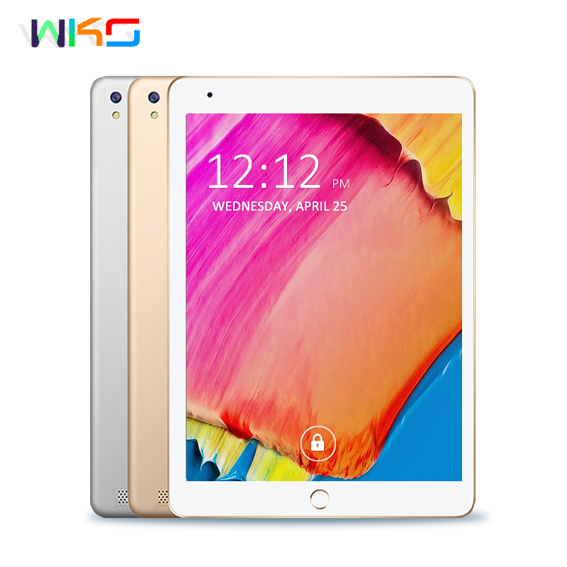 WKS 10.1 inch Tablet PC Android 7.0 Core 4GB RAM 32GB ROM 5MP WIFI GPS 3G WCDMA Phone Call Tablet 10 Phone Call Dual SIM Tablets 10 1 inch tablet pc quad core 2gb ram 32gb rom dual sim cards dual camera 3g wcdma for android 5 1 gps tablets pc
