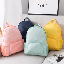Multifunctional Bag 2019 New Fashion Simple Korean Folding Backpack Travel Storage Mummy Three Easy To Carry