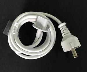 Image 2 - 高品質新ヨーロッパプラグ 1.8 メートルの電源コードの imac コンピュータ macbook eu プラグ充電アダプタ