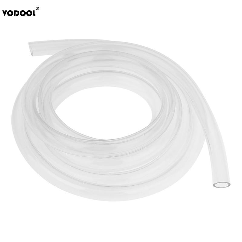 VODOOL 2m/6.56FT 9.5X12.7mm Transparent PVC Pipe Tube Computer PC Water Cooling Soft Pipe CPU GPU Water Cooling Block Adapter 50cm piece od25 30 32 40 50 60 70mm transparent diy acrylic tube pmma tube for pc computer water cooling