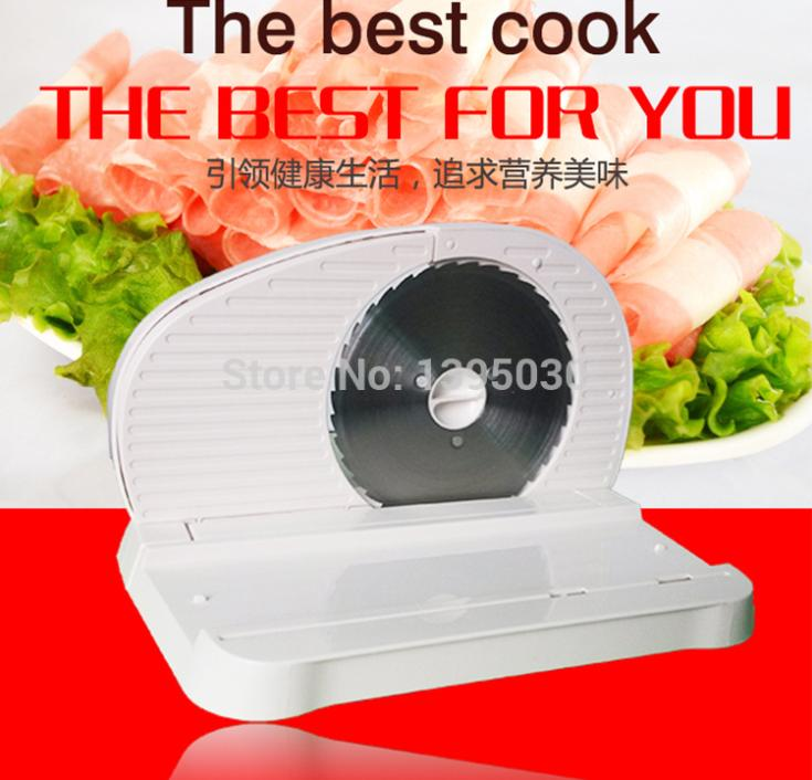 ФОТО Slicing machine household electric meat cutting machine meat slicer 0-15MM