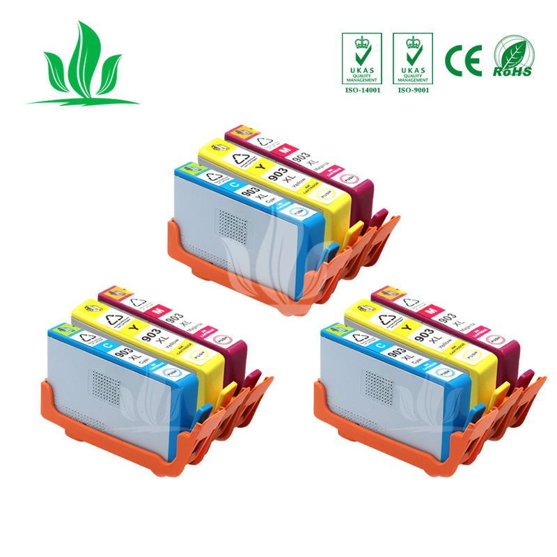 903XL 3XCMY Compatible for HP 903 903 XL Ink Cartridge for HP903 903xl for Officejet Pro 6975 6970 6950 6960 Printer903XL 3XCMY Compatible for HP 903 903 XL Ink Cartridge for HP903 903xl for Officejet Pro 6975 6970 6950 6960 Printer