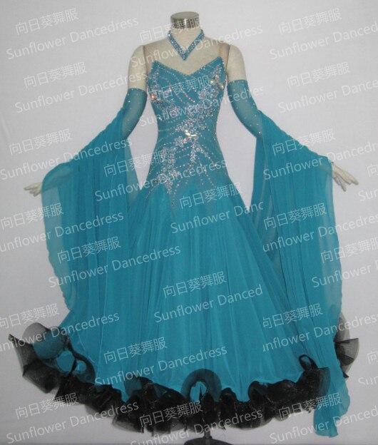 Modern Waltz Tango Ballroom Dance Dress, Smooth Ballroom Dress, Standard Ballroom Dress,Ballroom Dance Skirt Women Waltz Dress