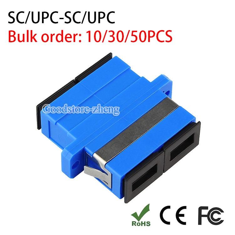 SC to SC/PC Singlemode Duplex Coupler Fiber Optic Adapter Connector