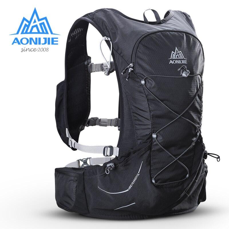 AONIJIE 15L Открытый легкий вес гидратации рюкзак сумка Бесплатная 2L мочевого пузыря для пеший Туризм Кемпинг бег марафон гонки