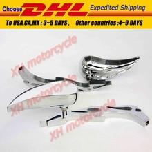 motorcycle partsMotor Alloy TEARDROP FLAME Custom Mirror  CBR600 RR 900RR 929RR 954 1000RR
