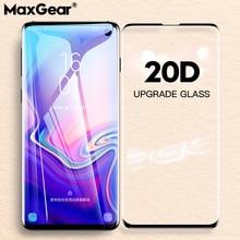 20D tam kavisli temperli cam Samsung Galaxy S9 S8 S10 artı E ekran koruyucu Samsung not 8 için 9 10 Pro koruyucu Film