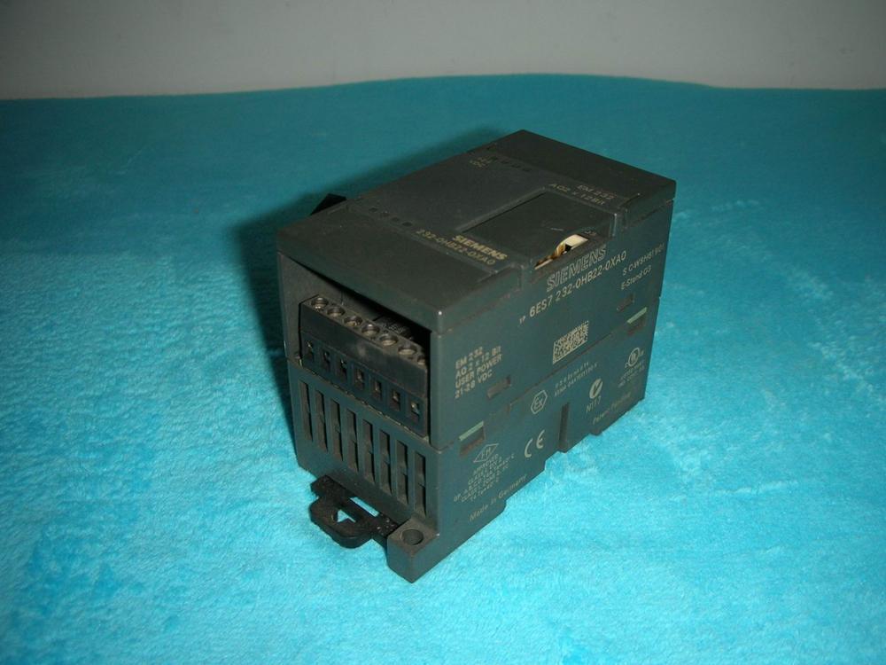 1PC USED * 6ES7232-0HB22-0XA0 1pc used fatek pm fbs 14mc plc